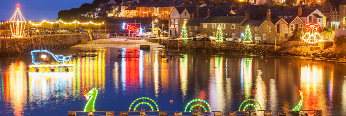 Cornish Christmas town